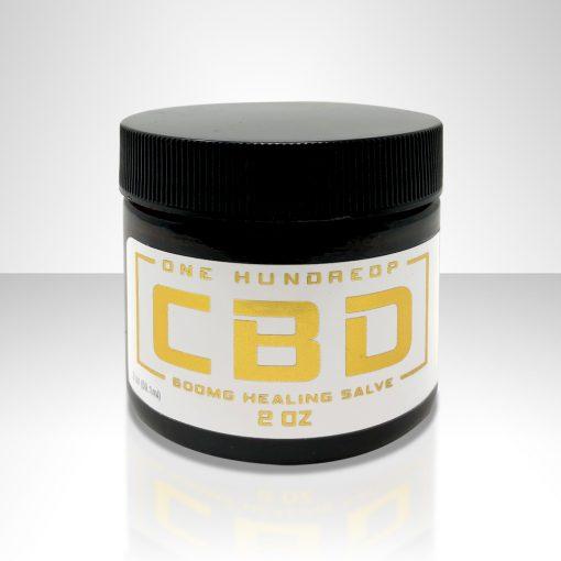 100P CBD Healing Salve Cream